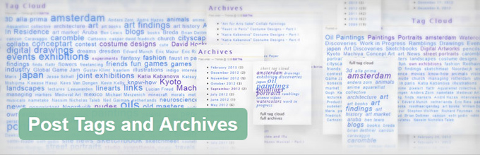 Post Tags and Archives - Plugin banner
