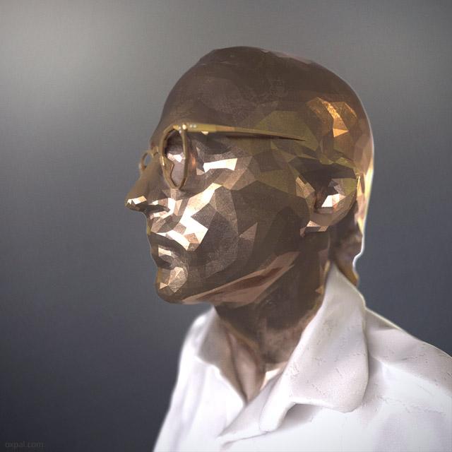 3D Thomas Schmall - Closeup