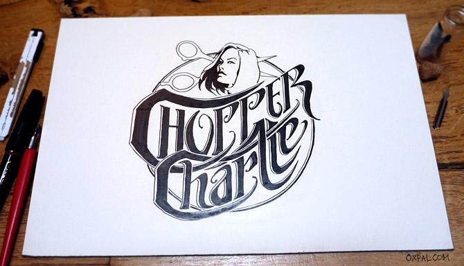 Ink Logo Lettering