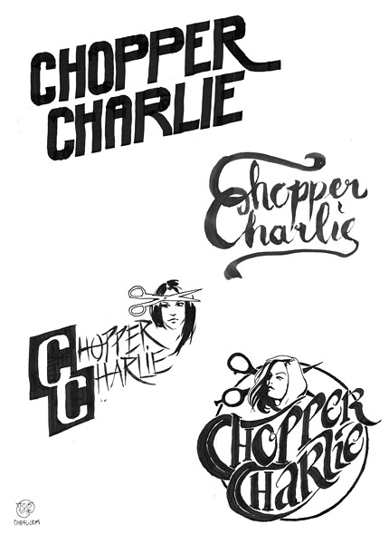 Ink Lettering Sketches