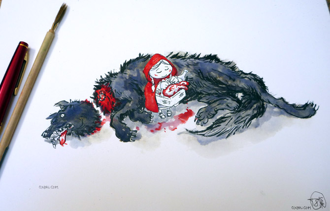 Red Riding Hood Drawing