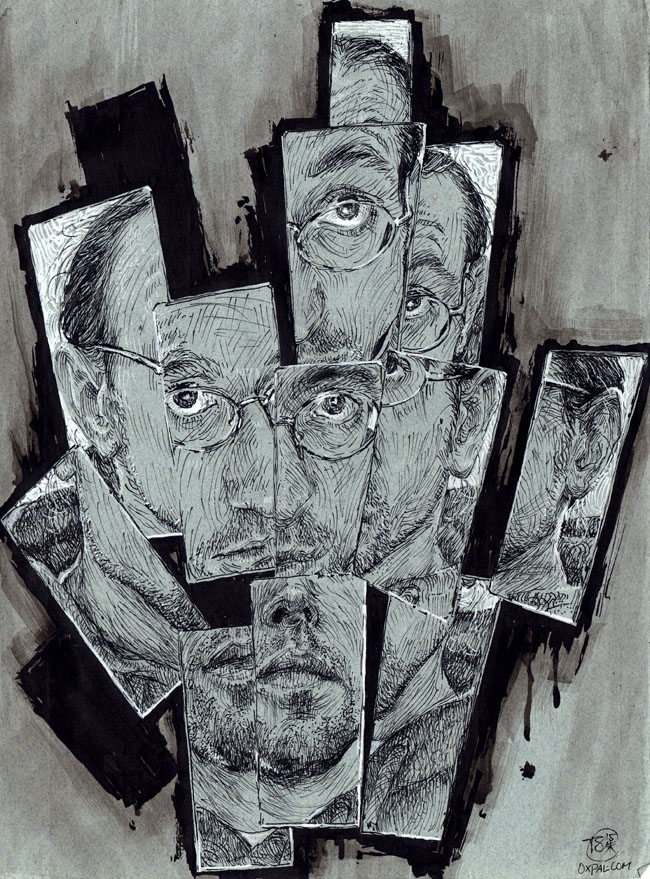 Thomas Schmall Self Portrait