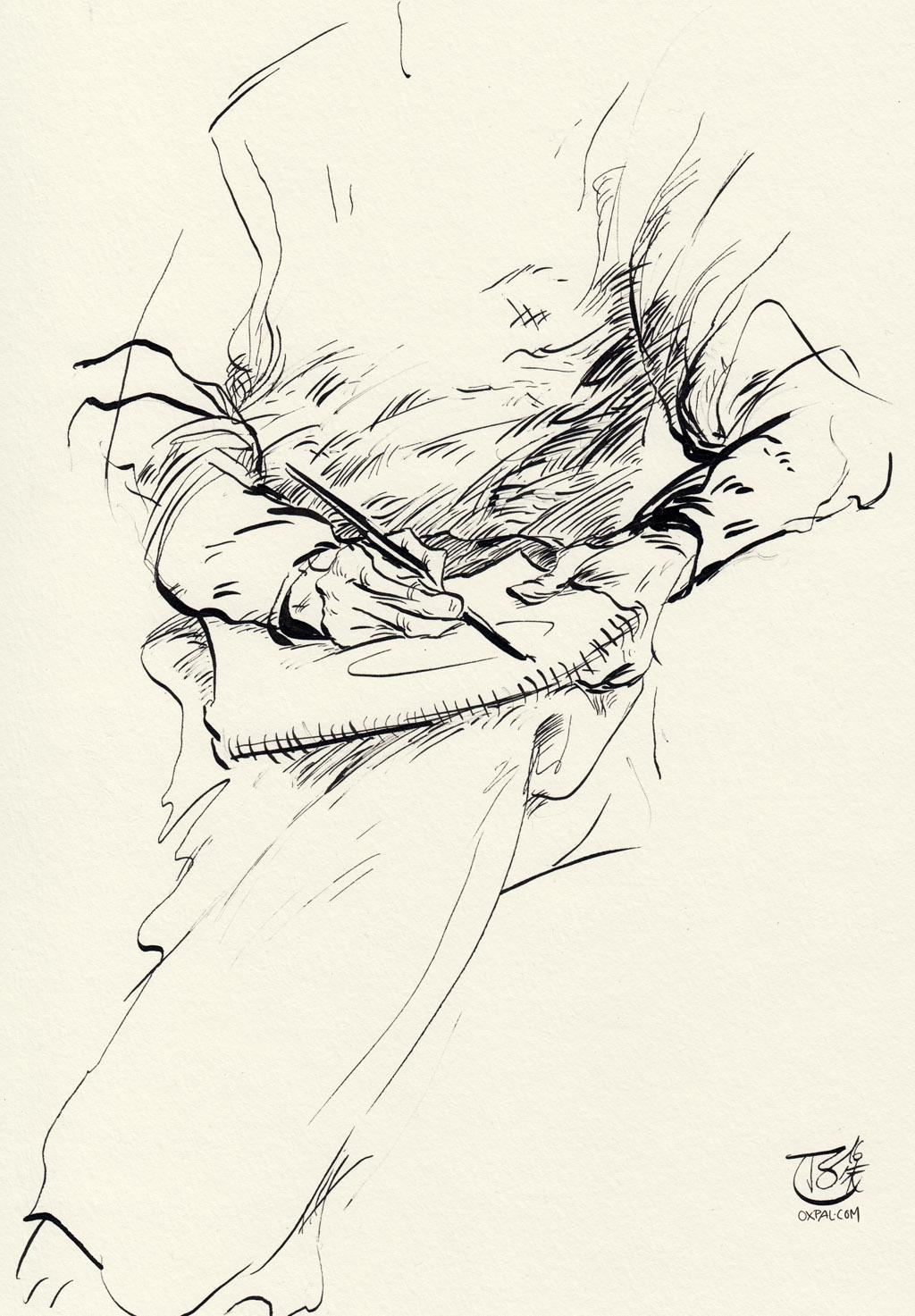 Artist drawn