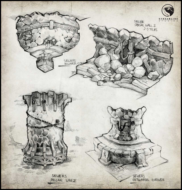 environment concept - spree dungeon 1