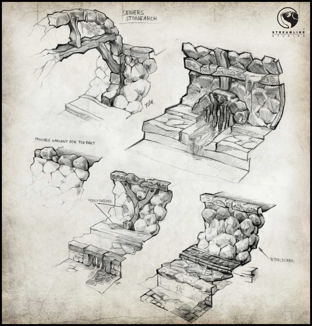 environment concept - spree dungeon 2