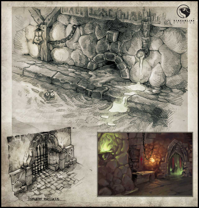 environment concept - spree dungeon 5