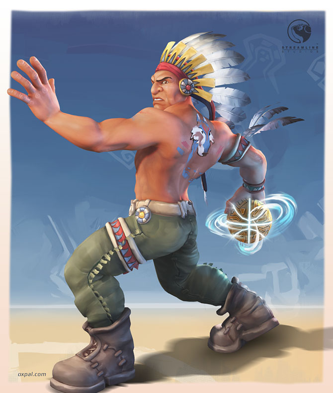 Chief - stylized Character