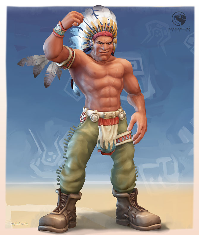 Chief - stylized Texture