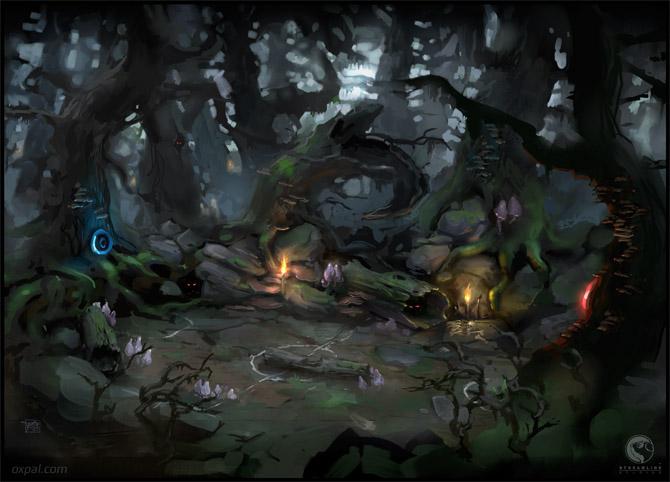 Dark Forest Concept