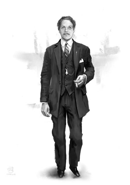 1910s World War One era suit
