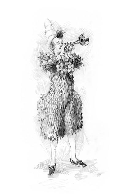 Faust in Paris - Fellini Clown