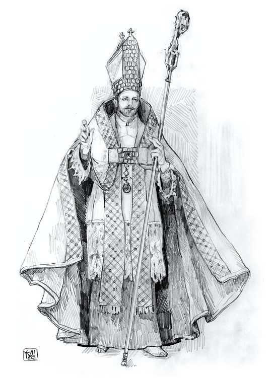 "Faust in Paris - ""Mephisto"" in a bishops dress"
