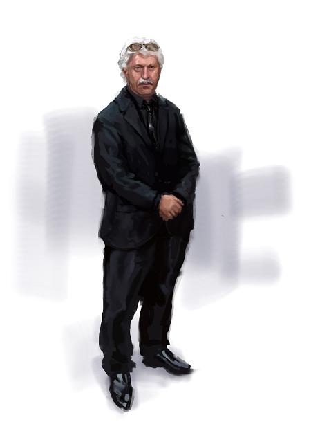 Costume Musical- Hij Gelooft in Mij: Jan Van Galen, black suit