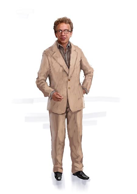 Costume Musical- Hij Gelooft in Mij: Ocre Suit