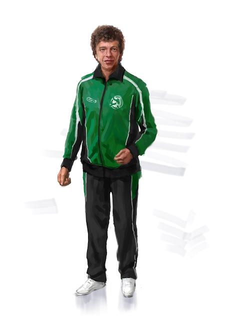 Costume Musical- Hij Gelooft in Mij: track suit