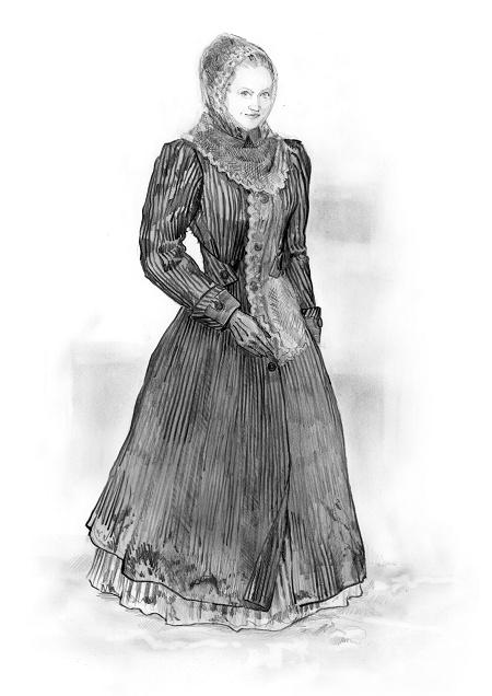 Varvara - coat russian upper class - ca. 1880