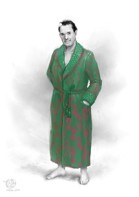 Early 20th century pyjama.