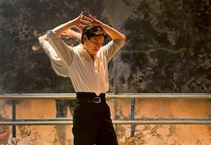 Vaslav in dancers dress
