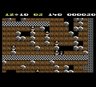 Also the C64 game Boulder Dash - thats where the boulders are from.