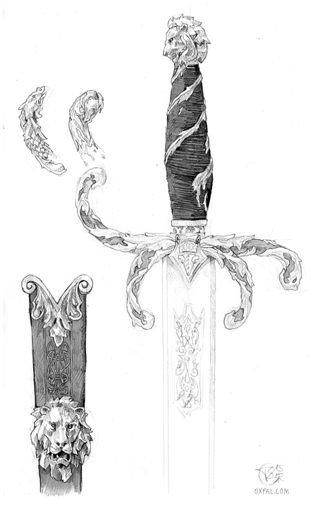 Pencil Sword Concept art