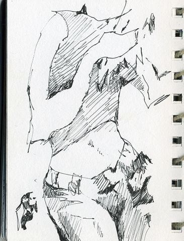 Sketchbook 2006 - ink