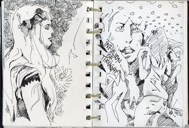 Sketchbook 2006 - ink