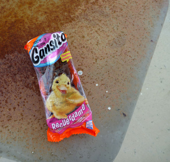 Gansito - This must be the most awesome duck design ever.