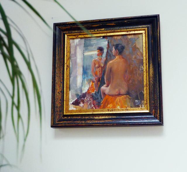 Emily framed