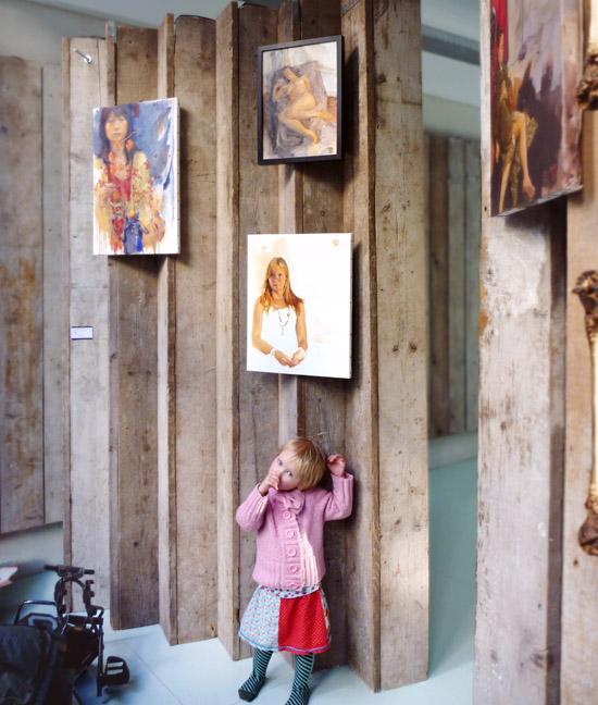 YogaLab Art Display: The public