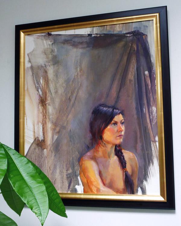 Marta Framed