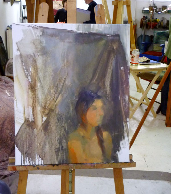 """Marta"" - work in progress 1"
