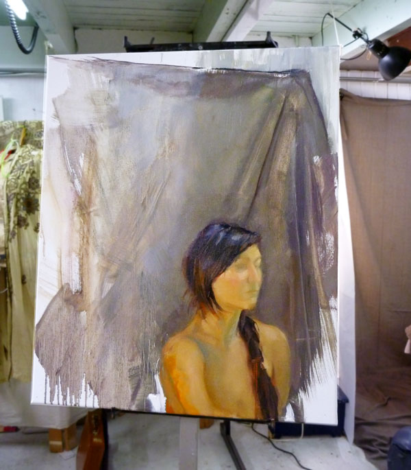 """Marta"" - work in progress 2"