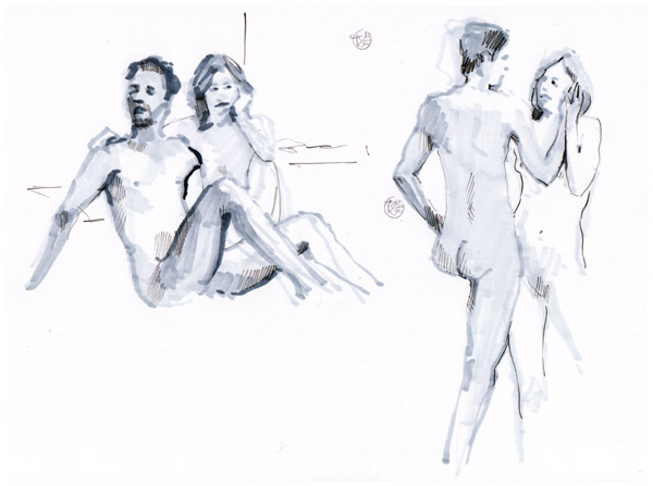 Dutch Sketch Meet - Figure Drawing 01
