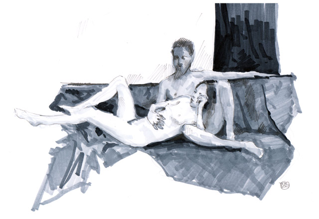 Dutch Sketch Meet - Figure Drawing 03