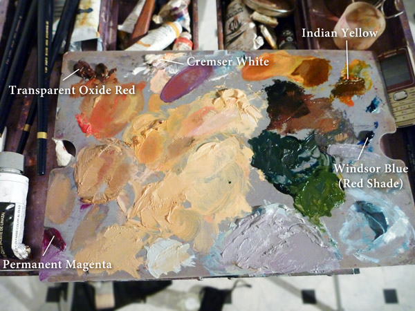 Oil Pallete Mix