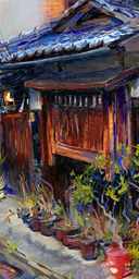 29_machiya_pots (Painting)