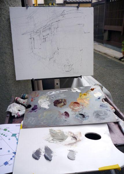 Painting Sketch - Step 1
