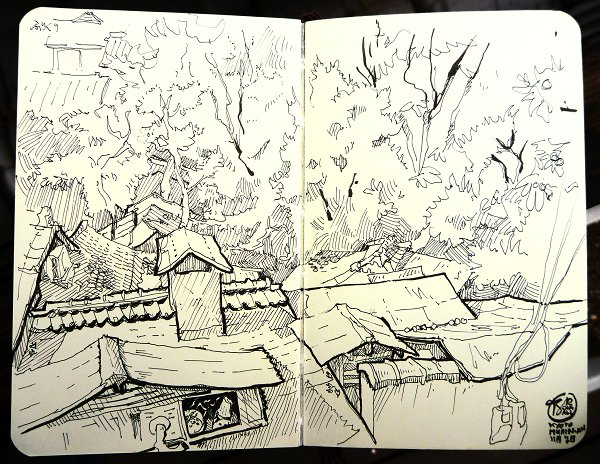 Murin-An Sketch05 Roofs