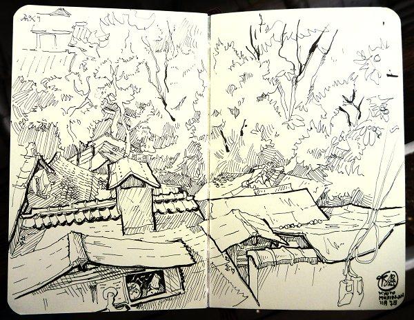 Murin-An Sketch05 Roofs