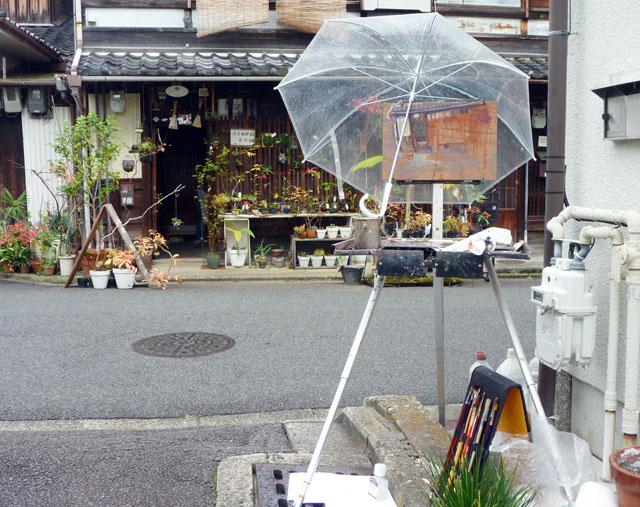 Painting Setup, Fukuwaka shop.