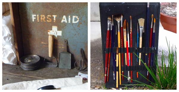Painting tools, Bonsai tools