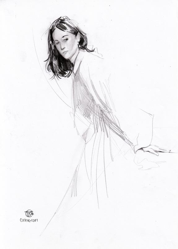 Dressed Pencil Figure