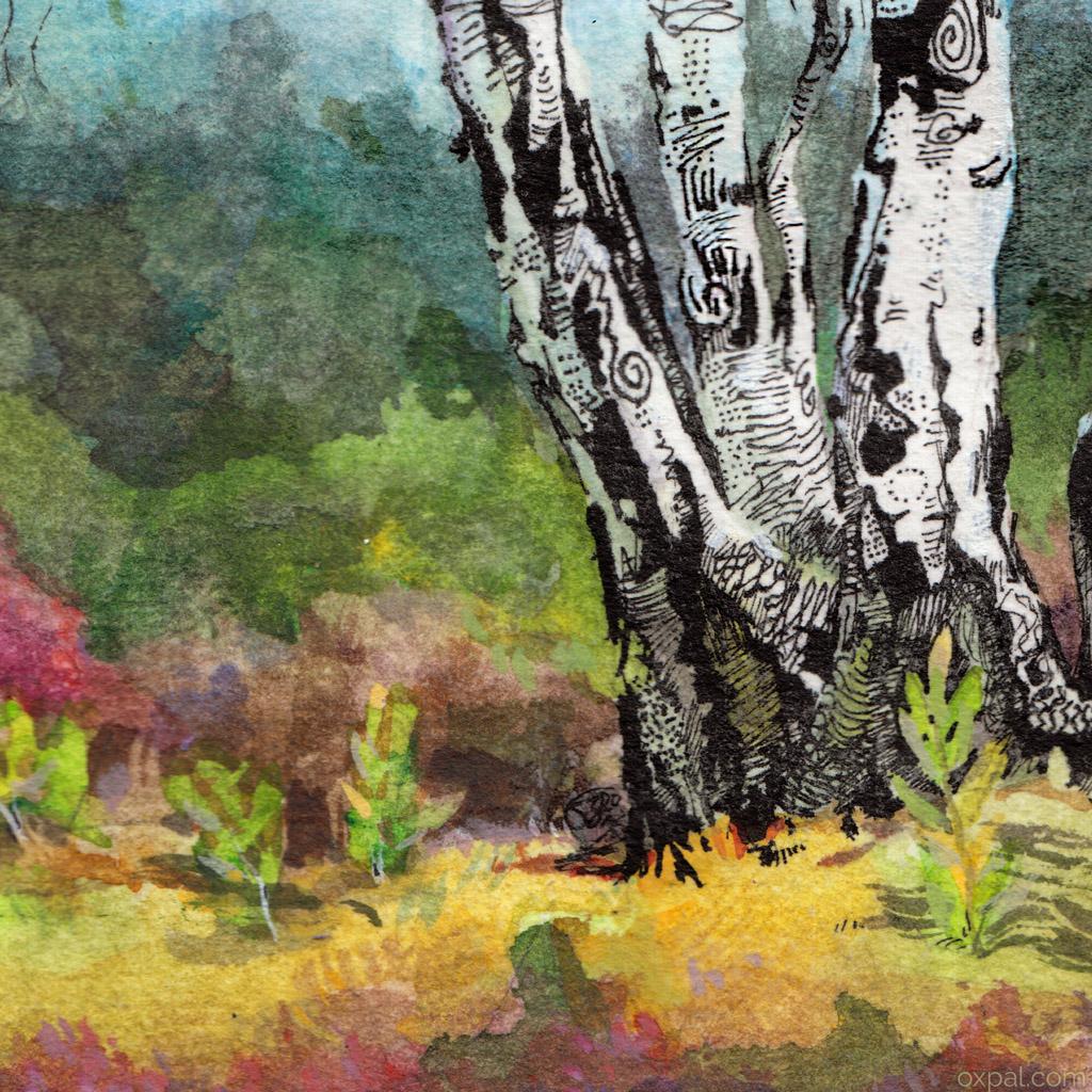 Detail Tree Drawing
