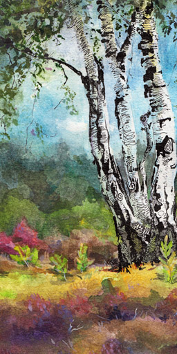 02_heathland (Classical Drawing/Painting)