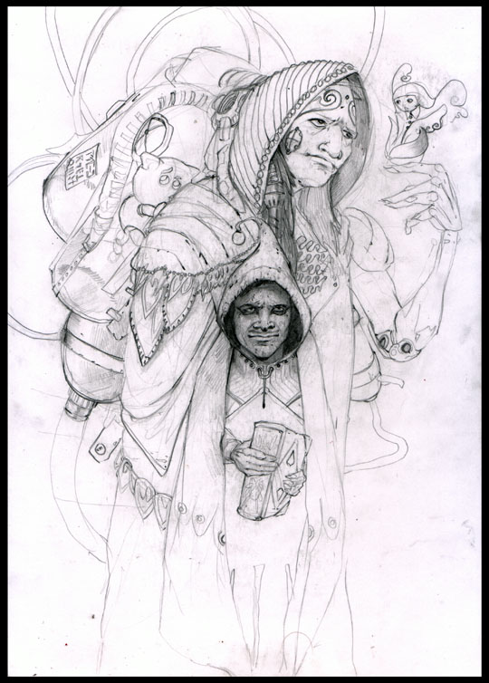 Mezzo Sketchgroup Drawing