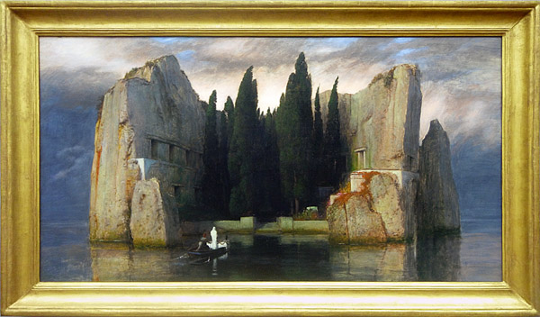 Arnold Böcklin   (1883) - Die Toteninsel (Isle of the Dead)