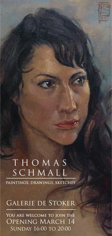 Art Exhibition Thomas Schmall Flyer