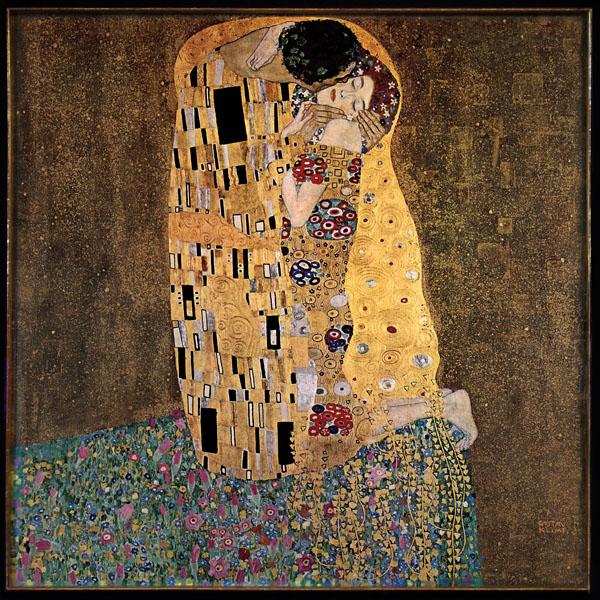 Gustav Klimt 1907 - Der Kuss