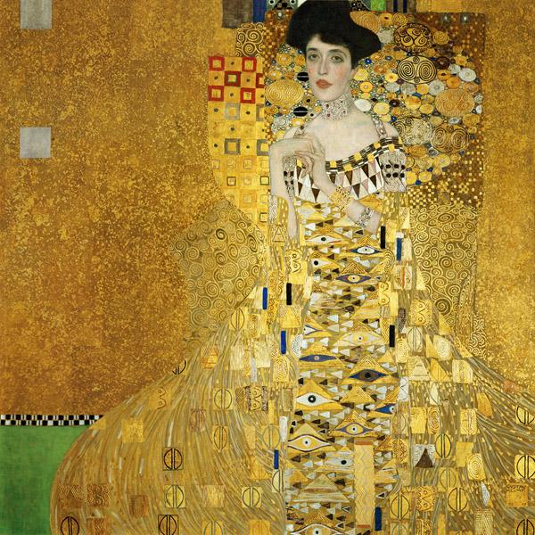 Gustav Klimt 1907 - Portrait of Adele Bloch-Bauer