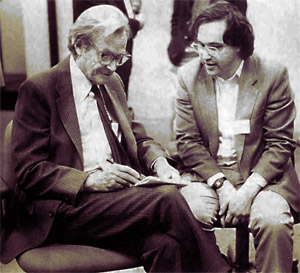 Richard Feynman and Stephen Wolfram